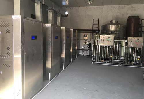 河北某橡胶公司改造蒸汽热能机