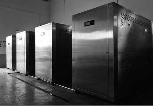 江苏某机械密封材料公司购入蒸汽热源机