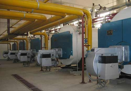 北京油泵油嘴厂5台天燃气锅炉房