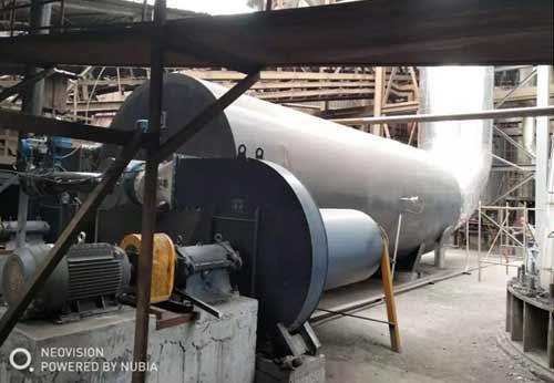 达州某钢厂使用1台3.5MW热风炉