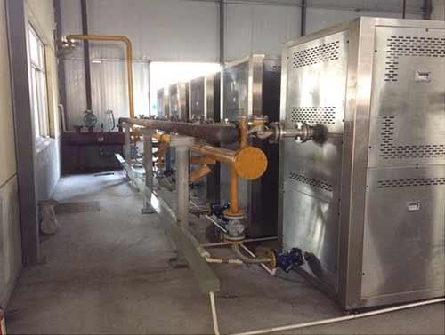 低氮蒸汽机